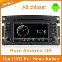 Car DVD Player Car PC Universal Car Radio for Mercedes Benz Smart Pure Android 4.0 Stereo GPS Navi 1G CPU 512 DDR 4G Flash 1080P