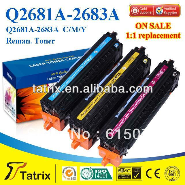 FREE DHL MAIL SHIPPING ,Q2681A Toner for HP LaserJet 3500 Printer Toner Cartridge. Best Q2681A Toner(China (Mainland))