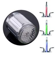 3 Colors Temperature Sensor  Water-Tap / Faucet /hydrant Glow Shower Colorful LED Light