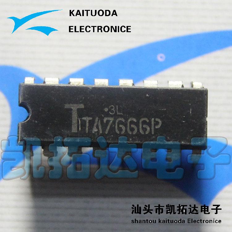 Free shipping 10PCS TA7666P LED display driver circuit level(China (Mainland))