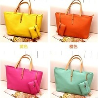 2014 New arrival wholesale occident style women bag vintage belt buckle all match handbag and single shoulder bag