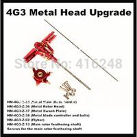 HM-4G3-35-36-37-38-Assembled: CNC Alum Metal Head Set for Walkear 4G3, 4G6 & Novus CP, Fully Assembled