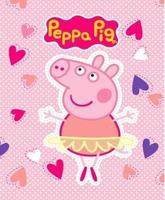 Australia peppa pig cartoon pattern blanket pink pig double faced fleece blanket 125 160cm
