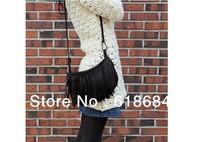 Free shipping 70pcs/lot New Handbag Fashion Tassel Small Messenger Bag Big Buckles Fashion Handbags Casual Fringed Shoulder Bag