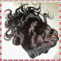 "100% human hair no animal hair blend brazilian body wave weave wefts 7pcs/lot,50g/piece,12""-22"",free fast shipping"