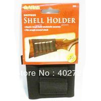 Free Shipping!  10Pcs/Lots Allen #205 Black Shotgun Buttstock Holder Elastic Loops Fits Snug Holds 5 Shells
