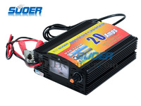 Free shipping Input 220V OUTPUT 12v 20A Automatic Lead Acid battery Charger for car intelligent 4-stage CE ROSS IEC