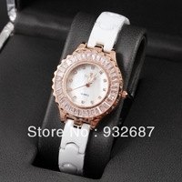 2014 luxury brand watches, diamond ceramic watches, Quartz watches for women, free shipping
