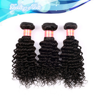 Free Shipping Queen Hair Products More Wavy Brazilian Virgin Hair Kinky Curly Hair Extenstion Mixed Length 3 pcs/ lot 5A