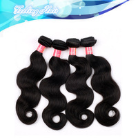 Free Shipping Queen Hair Products  Brazilian Virgin Hair Body Wave Hair Extenstion 100% Unprocessed