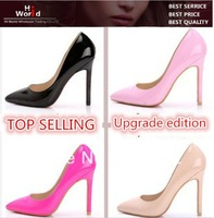 EURO 34-42 2014 new arrive sexy fashion Pointed Toe Club Women high-heeled shoes sexy occupation Women's Pumps high 11cm ,