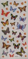 24 waterproof tattoo stickers butterfly female tattoo stickers m108