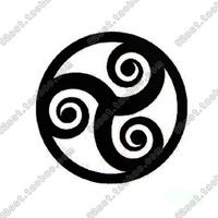 Tattoo stickers waterproof female Men mark of black tattoo tm0979
