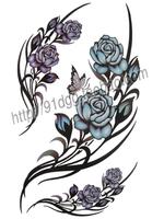 Tattoo stickers waterproof butterfly tattoo stickers gf416