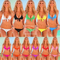 Victoria bikini new 2014 gather chest size sexy bikini swimwear female European and American trade spot V032 free shipping