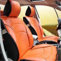 Car seat cushion leather cushion chromophous mh3 quality luxury