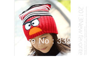 New arrive animal cotton Warm long cap baby hat and Scarf Children knitted hats Boys and girls caps children's caps