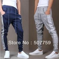 Free Shipping 2014 new mens pants hip hop sports wear slim fit jumpsuit men british style sweatpants/trousers man