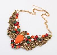 Fashion vintage personality full rhinestone necklace cxt98599