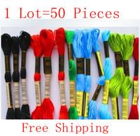 Best Choice Similar DMC Thread Cross Stitch Embroidery Thread Skein Cotton Free Shipping