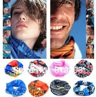 FREE SHIPPING Outdoor Sports Cycling Bike Bicycle Riding Variety Turban Magic Headband  Head Scarf Scarves Face Mesh Bandanas
