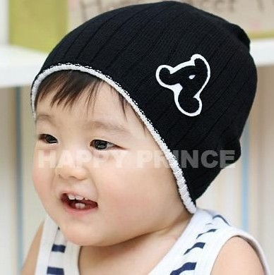 5 colors in stock new 2014 autumn-summer cotton knitted warm caps for children,children's hats,hats for kids,baby accessories(China (Mainland))