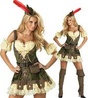 Sexy halloween costume Robin Hood Costume dkln