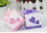 new arrive wedding candy BOX/wedding sugar box /Small size: 5*5*4.5cm(200PCS HOTSEELING)