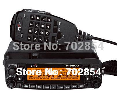 Professional TYT TH-9800 Automotive Radio Station Quad Band 29/50/144/430MHz & 26-950MHz Coverage VV,VU,UU Dual Receiver Design(China (Mainland))