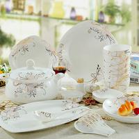 Ceramics 56 quality bone china dinnerware set