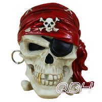 Free shipping Male skull ashtray gift skeleton ashtray personalized gift for wholesale or retail