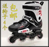 Free Shipping 5166 skating shoes skating shoes skates slalom skates 237 120-metre-tall frm