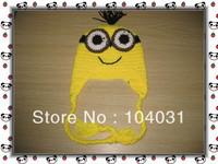 yellow cartoon characters crochet hats for children crochet baby hat