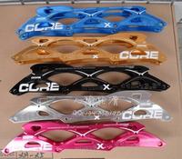 Free Shipping Powerslidepscore4 110 4 100 bined mount speed skating blade holder A pair of