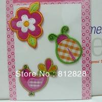 5sets 3pcs/Sets Ladybugs Iron-on Embroidered Patch