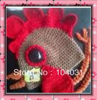 funny hats cock crochet pattern hip hop caps kids big red apple baby girl