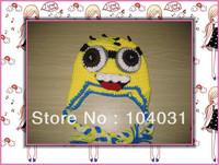 yellow minion crochet pattern newborn baby hats handmade baby beanie minion crochet