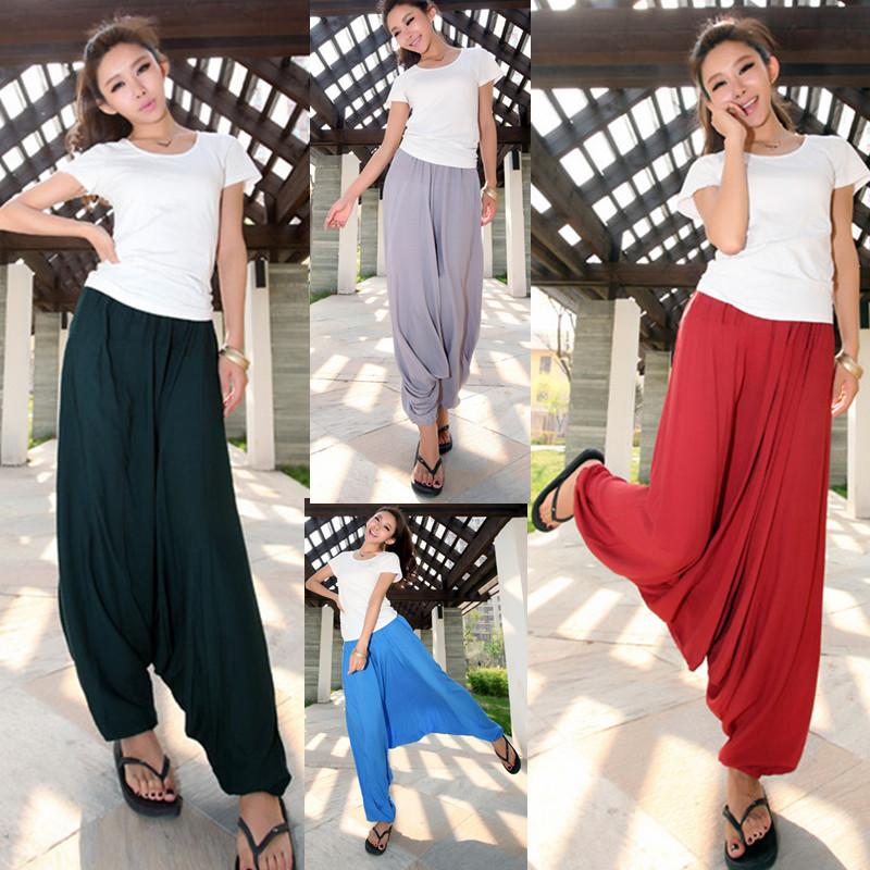 2014 women's clothing set woman Big crotch pants harem pants casual trousers yoga bloomers radish skorts pants(China (Mainland))