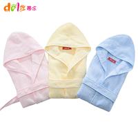 0 - 2 baby bathrobe hooded bathrobes baby bathrobe with a child hood cloak newborn bath towel sleepwear