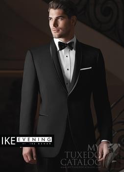 Groom Tuxedos Черный Best Man Peak Lapel Bridegroom Men Свадьба Suits(Jacket+Брюки+Tie+Жилет) ...