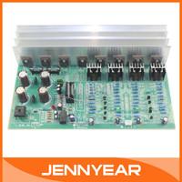 5HZ-100KHZ fr Power Amplifier FET Board Stereo Amplifier Board with Heat Sink AC28V Dual Power Input #110013