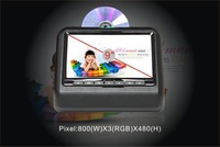 9 Inch Car Headrest DVD Player+USB/SD Playing+FM/IR Transmitter+Game Function with Controller