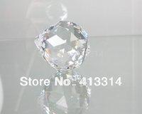 CLEAR COLOR CRYSTAL CHANDELIER PART PRISM LOT FENG SHUI BALL PENDANT  40MM