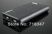 powerbank for iphone 4/4s/5/5s 20000 mobile powerbank mobile charger power bank 20000mAh1pcs Free Shipping