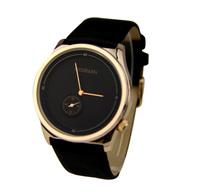 2014 New Hot Sale 3 Color Fashion Leather Strap Watch Classic Golden Ladies Quartz Watch Women Dress Watches ML0501