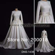 popular simple long sleeve wedding dresses
