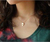 24pcs/lot Fashion Skull Necklace Girl Jewelry MN002 Magi Jewelry