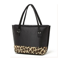 FLYING BIRDS ! 2014 famous brand Leopard female Handbag  purse Messenger Bags women  handbag shoulder pouch new LS1478