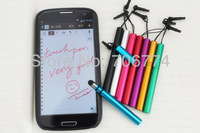 For iPhone iPad Tablet Phone Cellphone Mini Universal Capacitive Screen  Metal Touch Pen Free Shipping 20pcs/lto