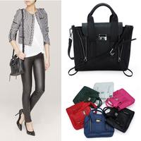 2014 Fashion Philli Lim pash dual zipper mini portable shoulder Messenger  free shipping